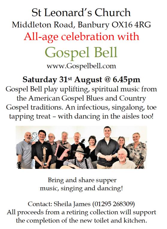 gospel bell 31 August